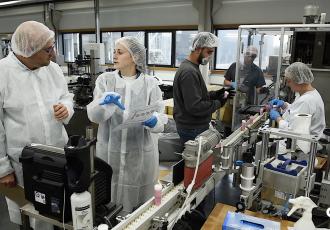 Le Saupont, entreprise de travail adapté, témoigne de l'excellence des services de Cplus